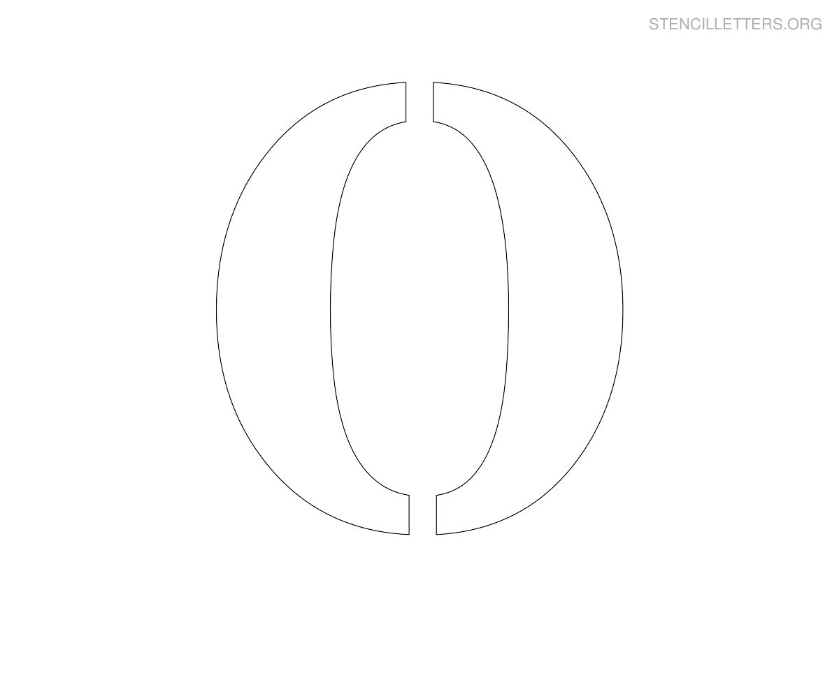 Fullsize Of O In Cursive
