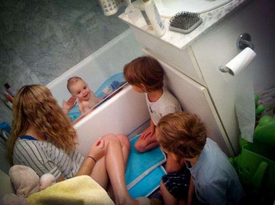 tub time