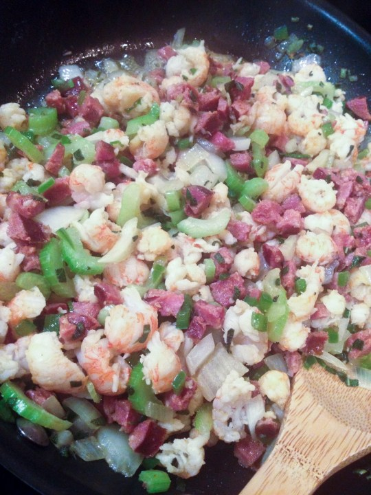 crawfish cornbread stuffing