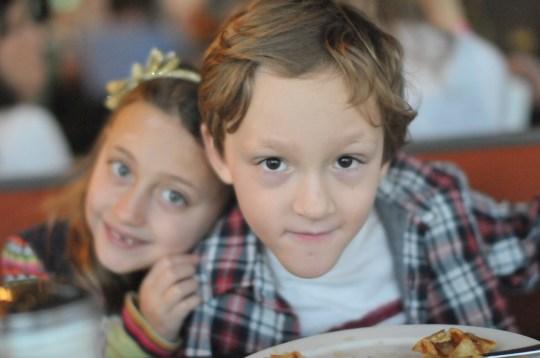 Age 7, twins