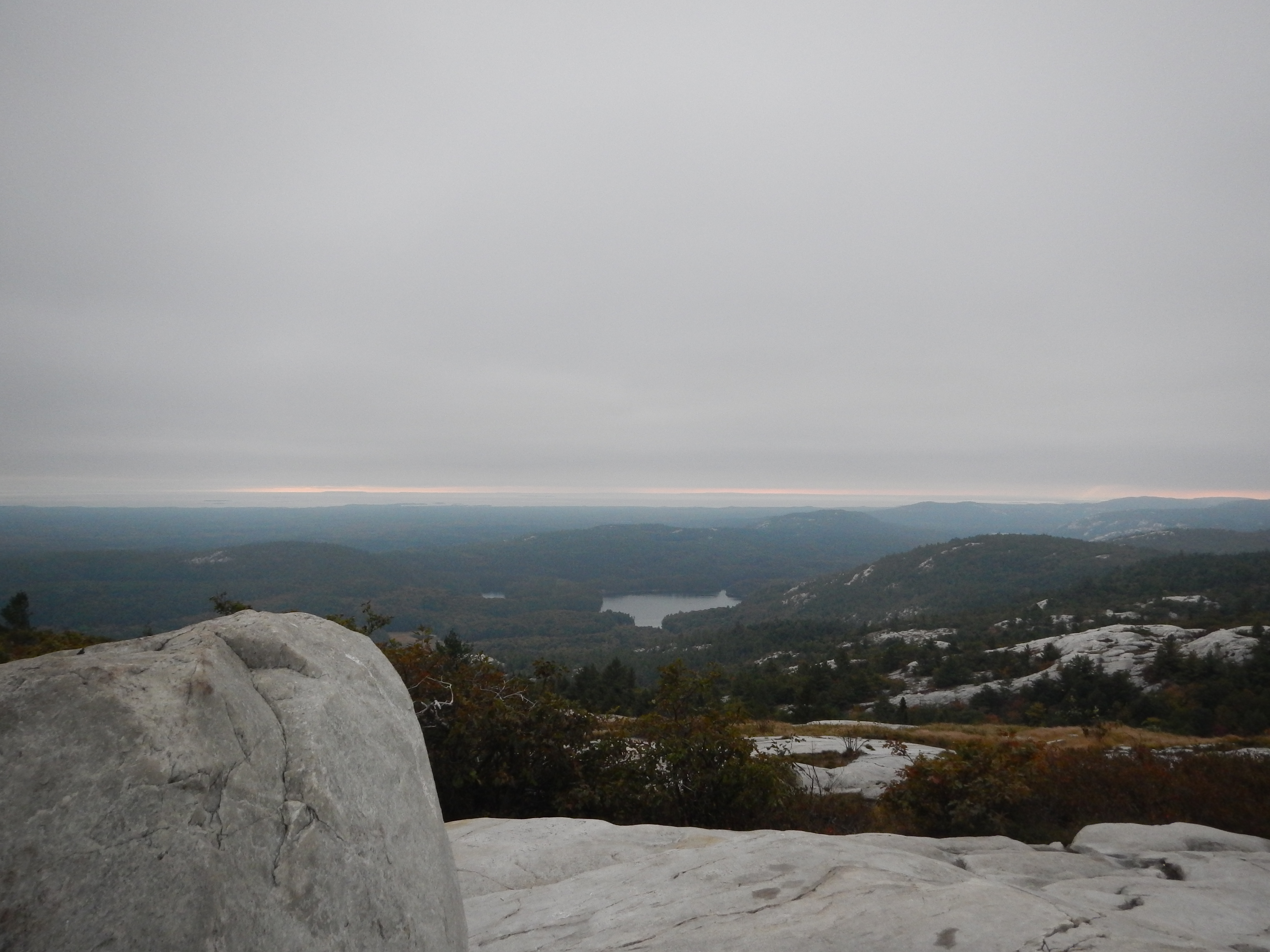 The view from Silver Peak.