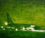 Aircraft, 2009, oil on canvas, 60x72""