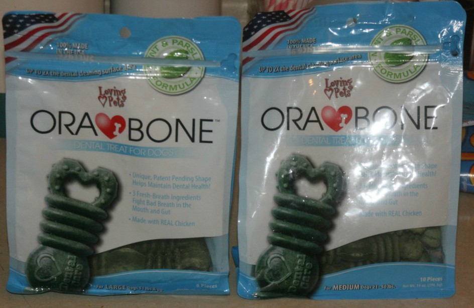 Loki and Rosie LOVE Ora-Bone by Loving Pets!