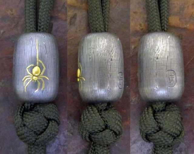 Gold_Spider_Damascus_Bead_30a