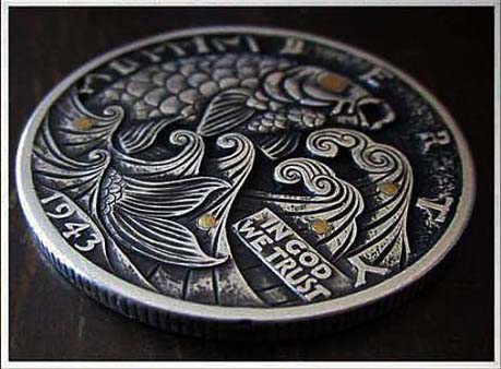 Koi_and_Waves_Hobo_HalfDollar_12