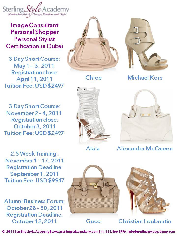 Whats Hot In Dubai Becoming An Image Consultant And Fashion