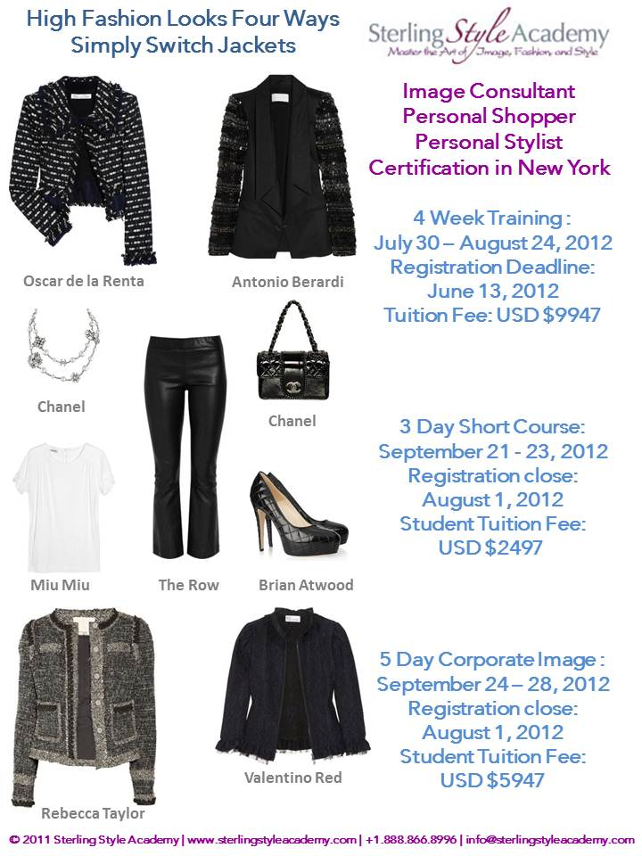 New York 5 Day Corporate Image Consultant Certification Program And