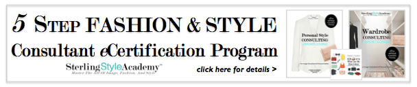 Fashion & Style Consultant eCertification Program | Sterling Style Academy