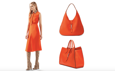 How to Wear Orange Gucci