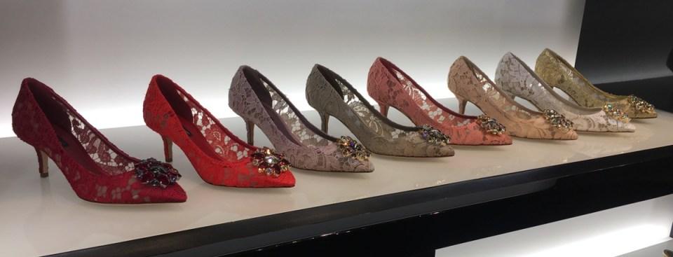 Dolce & Gabbana SS17 Heels