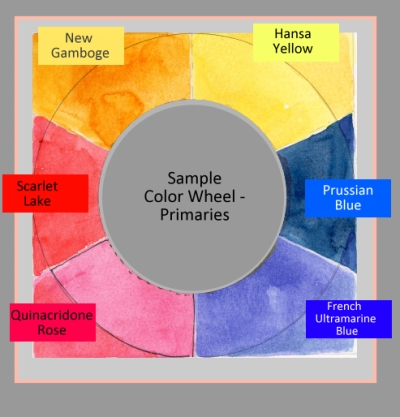 Color Wheel - Its All Relative