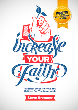 Increase Your Faith
