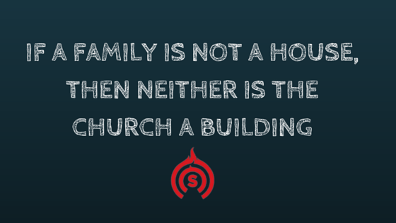 The family is not a house