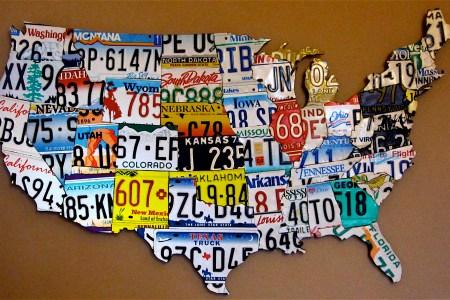 license plate maps | stevemarshart