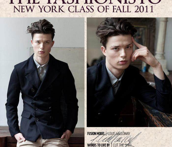 Louis Galloway Photographed by Steven Chu for TheFashionisto.com