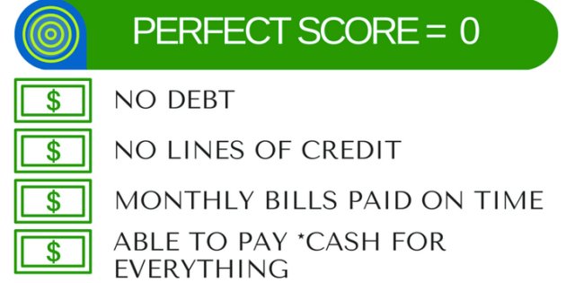 The Perfect Credit Score
