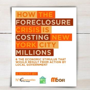 Report: Foreclosure Crisis