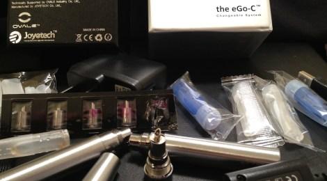 ovale joye ego-c review e-cigarette kit image