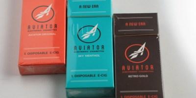 aviator test flight review e-cigarette packs