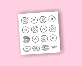 Listing Colorable-Donut2