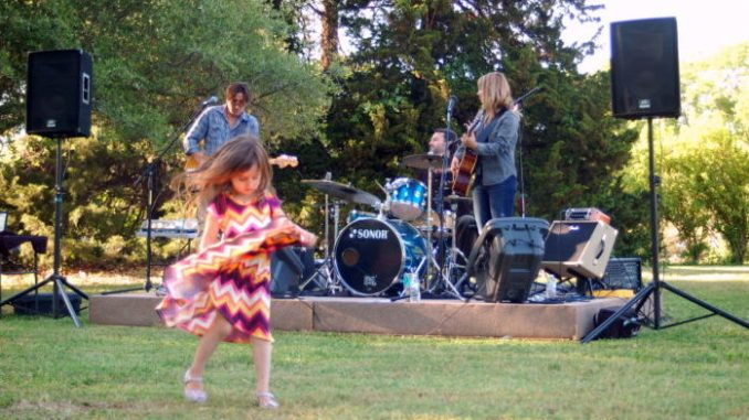 Patrice Pike and her band performed at The Botanic Garden at OSU in May.