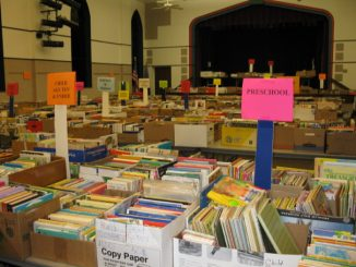 Thousands of books, neatly sorted for easy browsing, are available for purchase at Stillwater Public Library's fall used book sale Sept. 22-25.