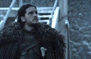 Jon Snow in Game of Thrones, season 6, episode 3, leaves Castle Black