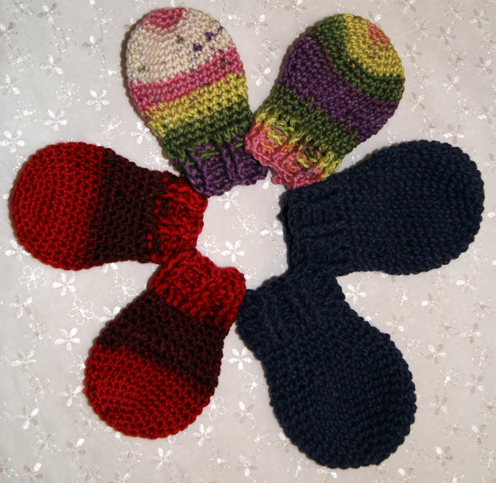 Free Crochet Pattern Thumbless Mittens : Crochet Thumbless Mitten Pattern Stitch4eveR