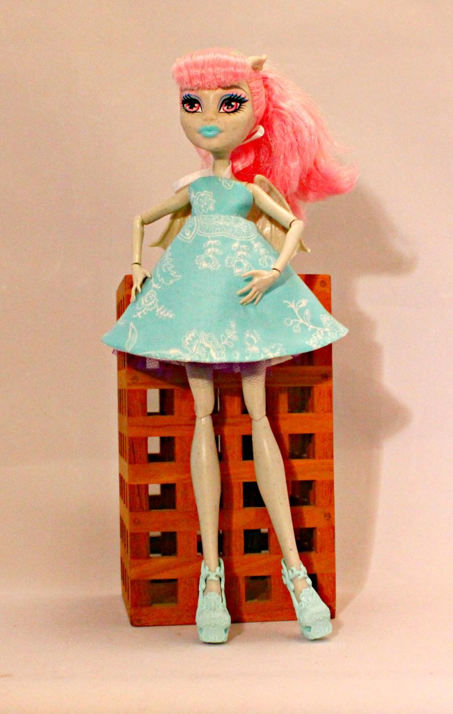 Halter Dress for Monster High Doll, by Stitchifed