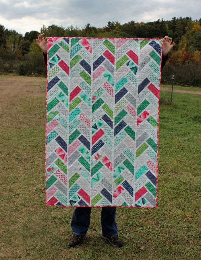 Herringbone Quilt, by Stitchfied
