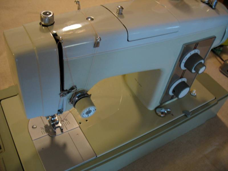 Impressive Since This Is An Er Sewing Vintage Sears Kenmore Sewing Machine Stitch Nerd Kenmore Sewing Machines On Ebay Kenmore Sewing Machine Model 158