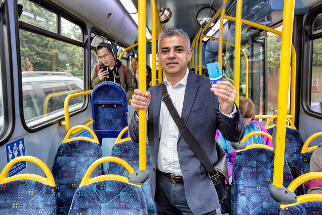 Sadiq Khan Photo credit Eyevine