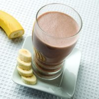 Peanut Butter and Banana Breakfast Shake