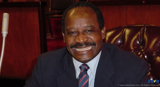 Former education minister Louis George. He passed away on  January 2 after a long illness.