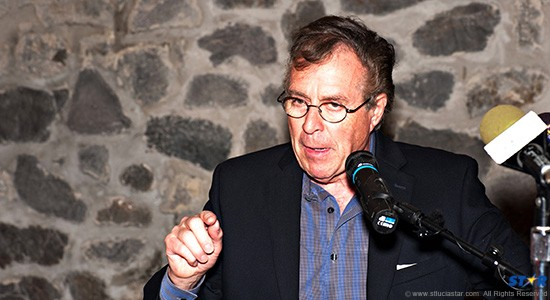 """Capella CEO Horst Schulze: Putting  """"ultra luxury"""" on the Caribbean map at Marigot Bay  in Saint Lucia."""