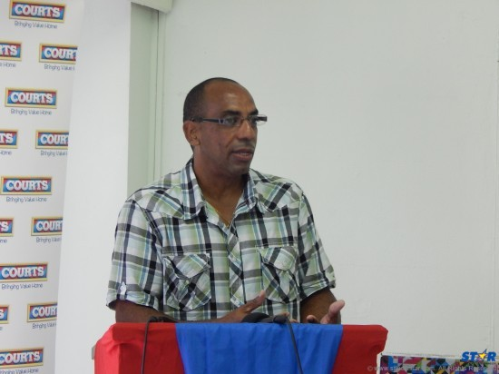 Colin Weekes founder of the Rise Film Festival.