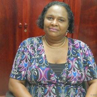 Alphia Earnest: the proud principal of Forestiere Methodist.