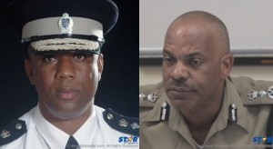 Who knows more about the story behind Operation Restore Confidence and the follow-up IMPACS investigation? Former police commissioner Ausbert Regis (left) or his replacement Vernon Francois?