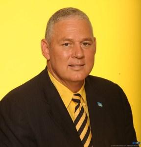 UWP Political Leader Allen Chastanet.