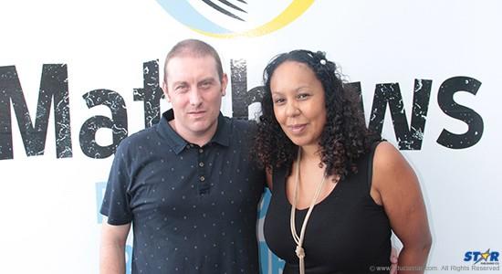 New restaurant owners Matthew and Catherine Chambers.