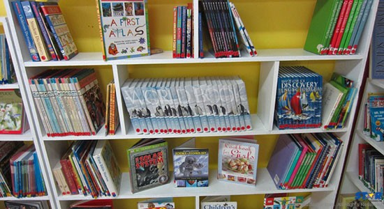 Students will be transported to a new world through reading at the Morne Du Don Primary School.