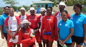 The team at Splash Island Water park who will ensure that persons have fun in a safe environment.