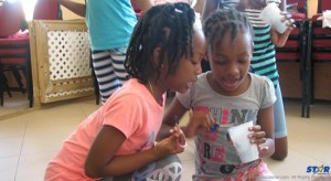 Children participating in Summer Arts program.