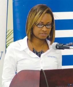 Shari Isaac-Popo at Pinehill Walk 2015 launch