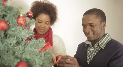 Decorating the tree with family or a loved one who is also into it helps ignite the Christmas spirit.