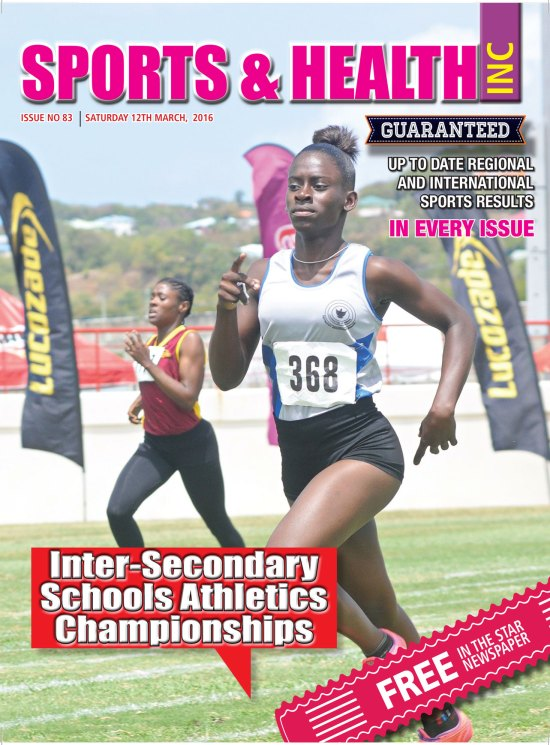 Sports & Healthy Magazine Inc. Saturday March 12th, 2016 Issue no. 83
