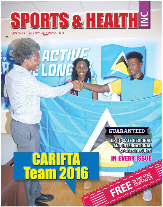 Sports & Health Magazine Inc. Saturday March 26th, 2016 ~ Issue no. 85