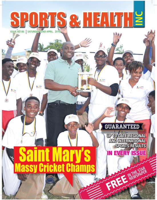Sports & Healthy Magazine Inc. Saturday April 2nd, 2016 ~ Issue no. 86