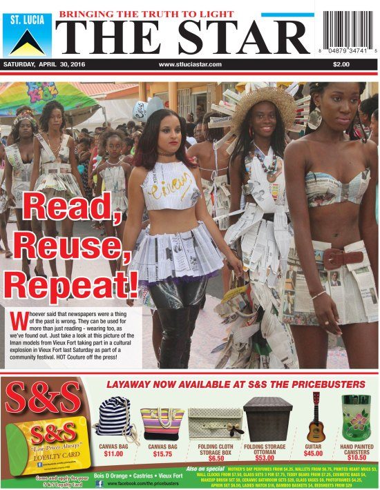The STAR Newspaper for Saturday April 30th, 2016 ~ Image of the Week
