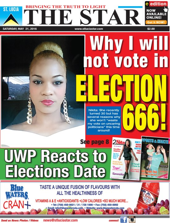The STAR Newspaper for Saturday May 21st 2016